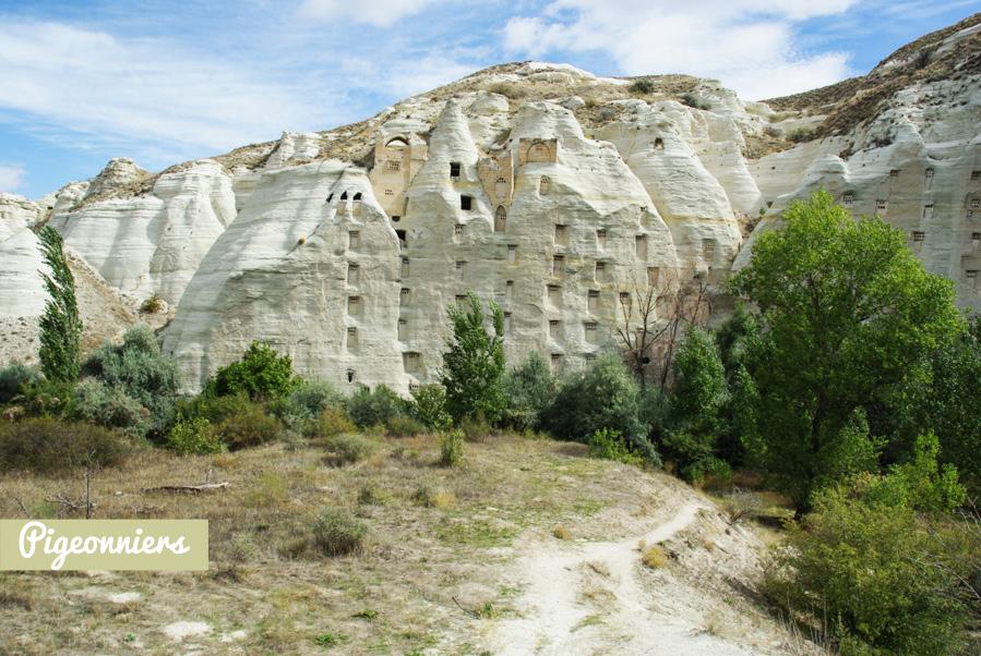 pigeonnier troglodyte en Cappadoce