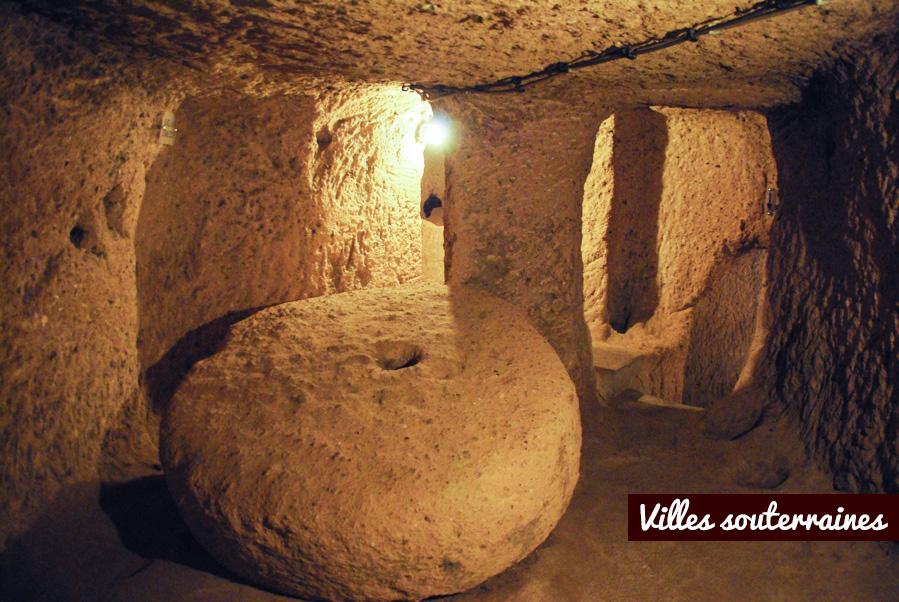 ville souterraine de Kaymakli - Cappadoce