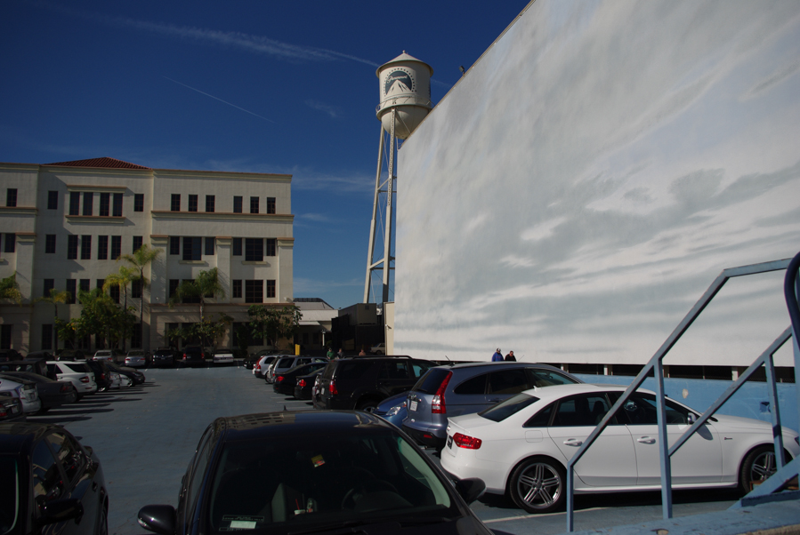 parking bassin submerssible pour tournage de film