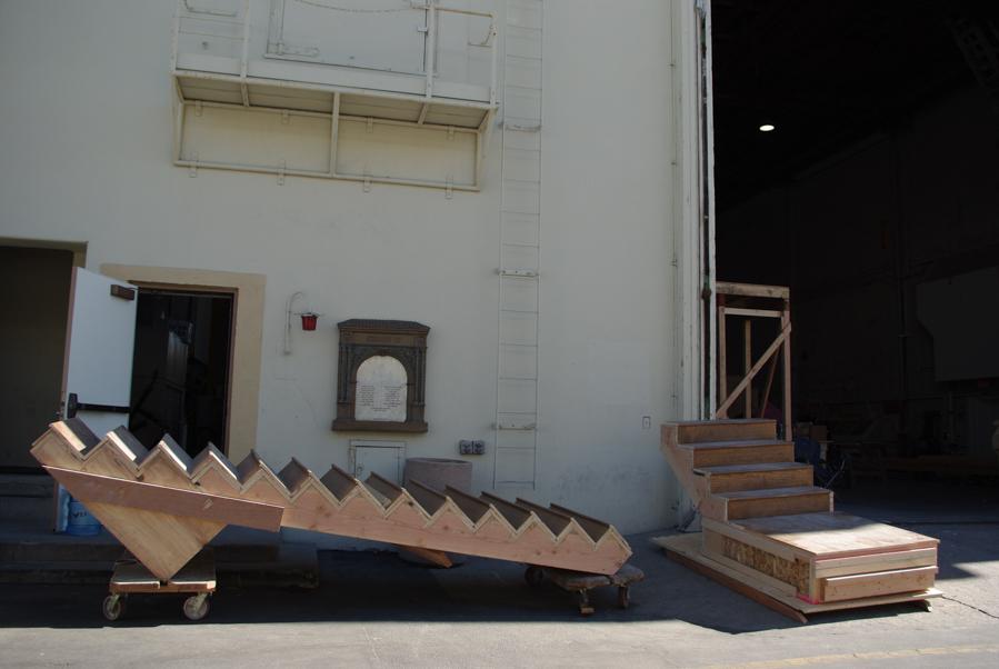 l'envers du décor des studios de cinéma