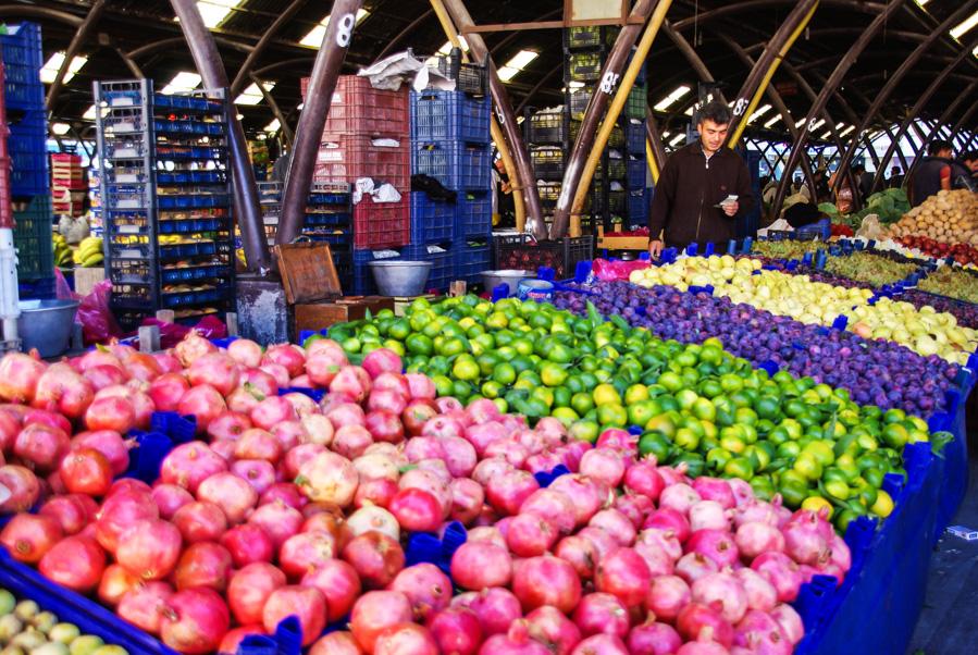 marché Avanos - cappadoce - turquie