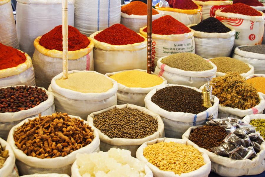 épices - marché d'avanos - cappadoce - turquie