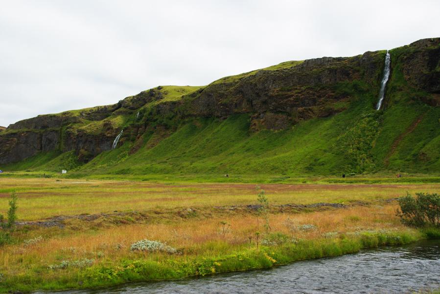 cascades de Seljalandfoss et Gljúfrafoss
