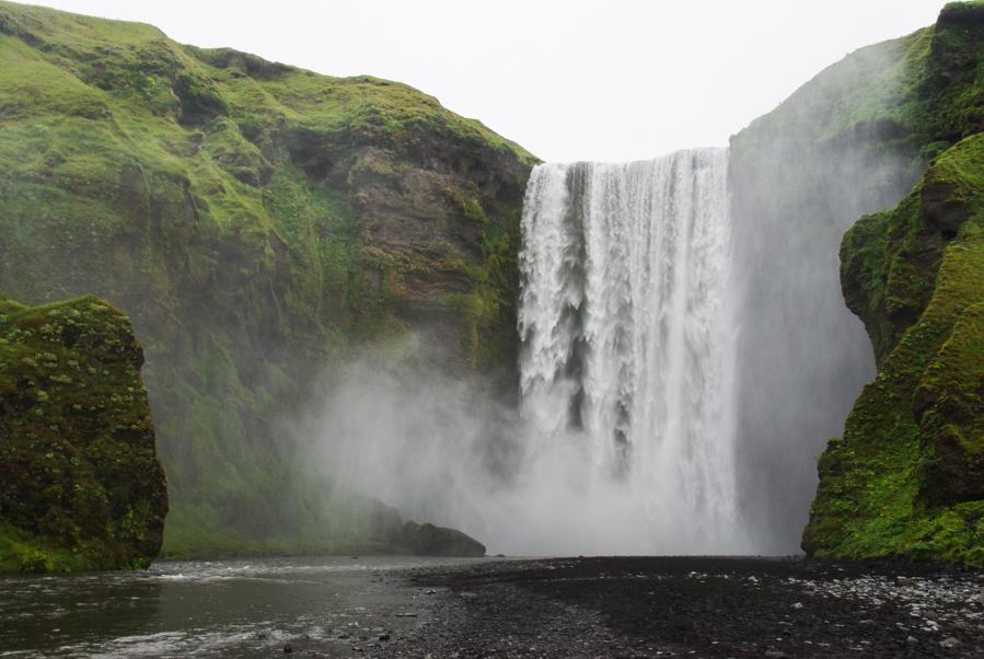 Cascade Skogafoss - Islande