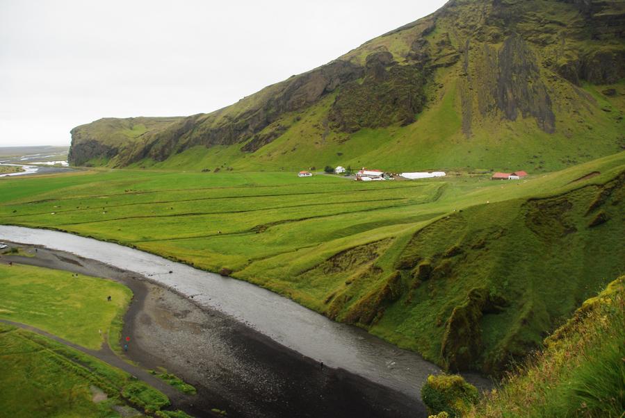 Paysage près de Skogar - Islande