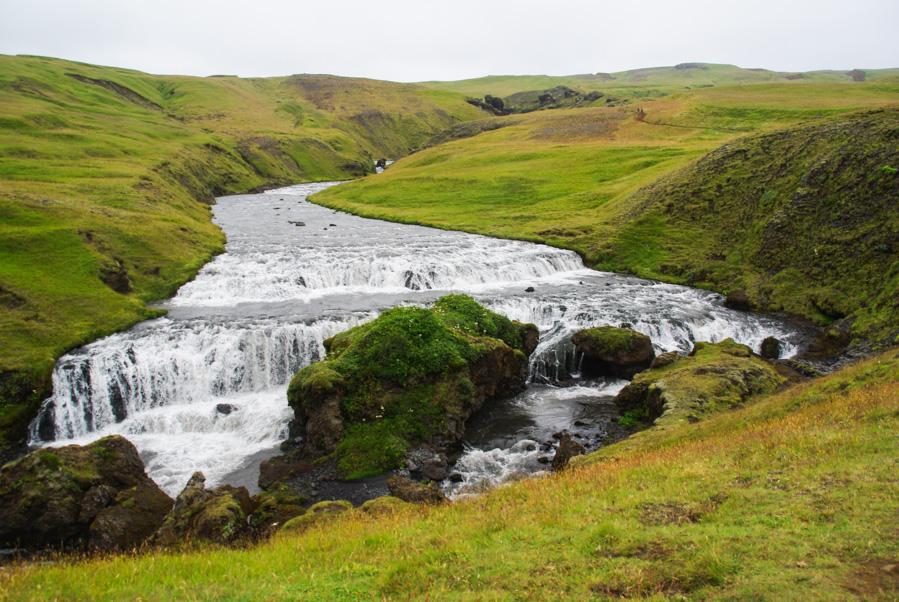 rivière skoga - Islande