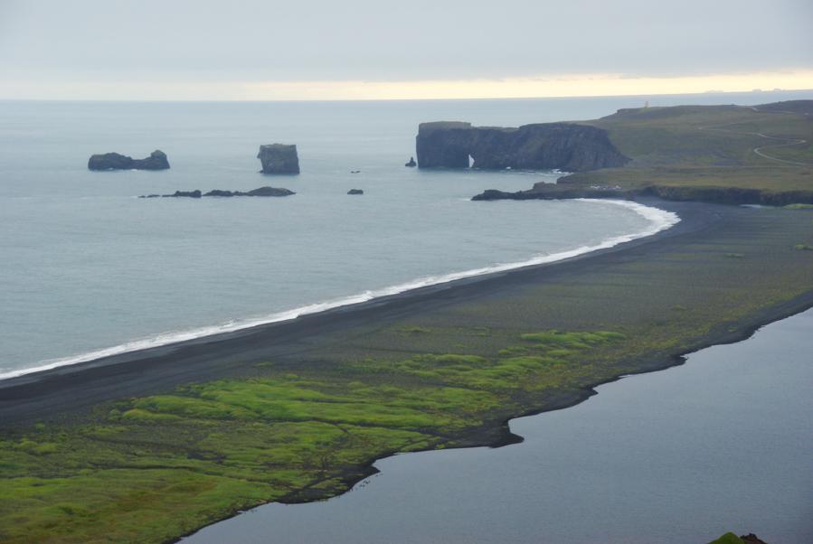 presque île de Dyrholaey