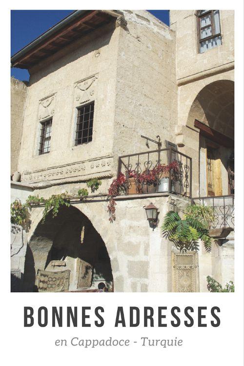 Hotel de charme et belles boutiques de souvenirs, retrouvez mes bonnes adresses en Cappadoce !