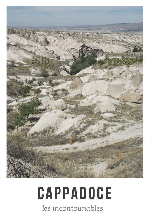 Découvrez les incontounables de Cappadoce : villes souterrains, maisons troglodytes, églises rupestres...
