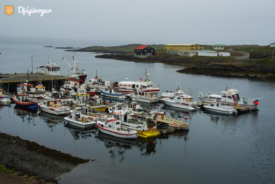 Port de Djupivogur - Islande