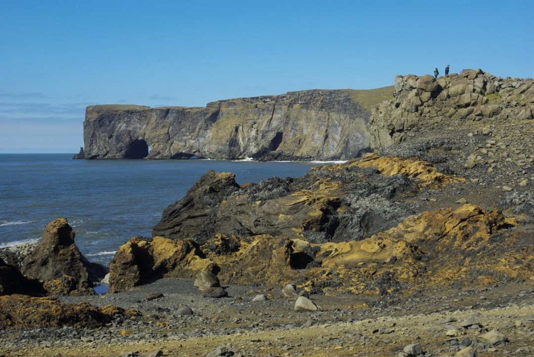 cap de Dyrholaey - falaises pres de vik en islande
