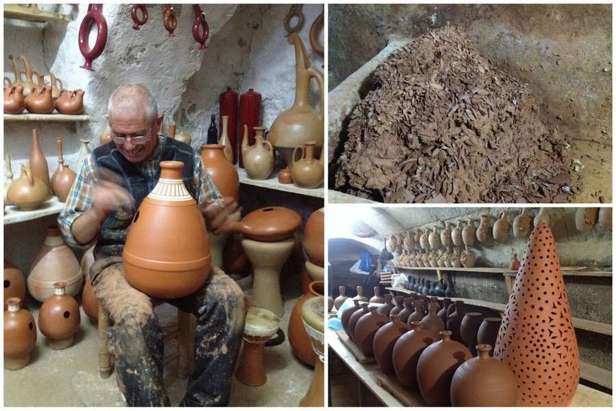 poterie le palais du Udu à Avanos - cappadoce - turquie
