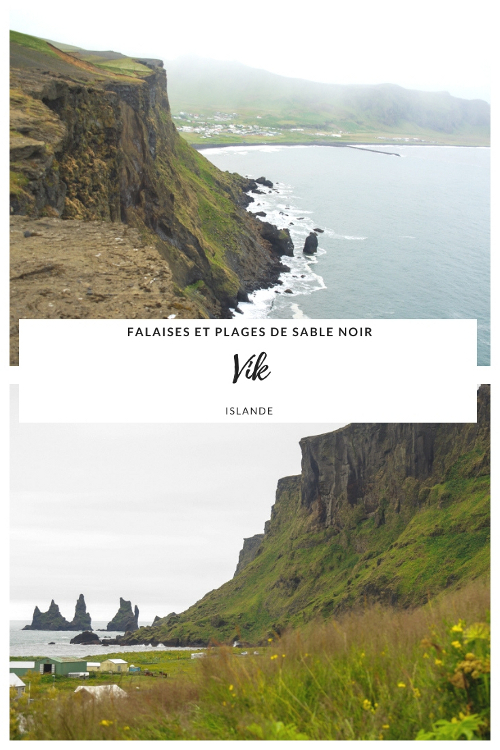 Que voir à Vik en Islande ? Falaises et plages de sables noir, observation des macareux moines