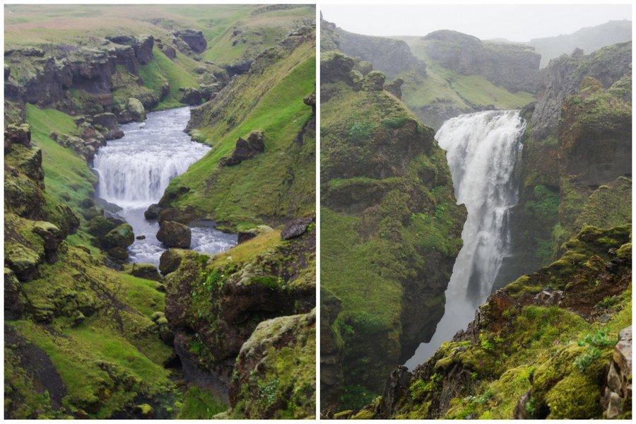 le long de la rivière skoga - Islande