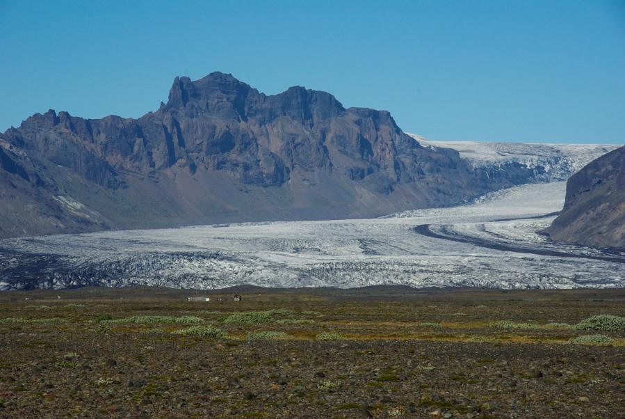 langue glaciaire -parc national de Skaftafell