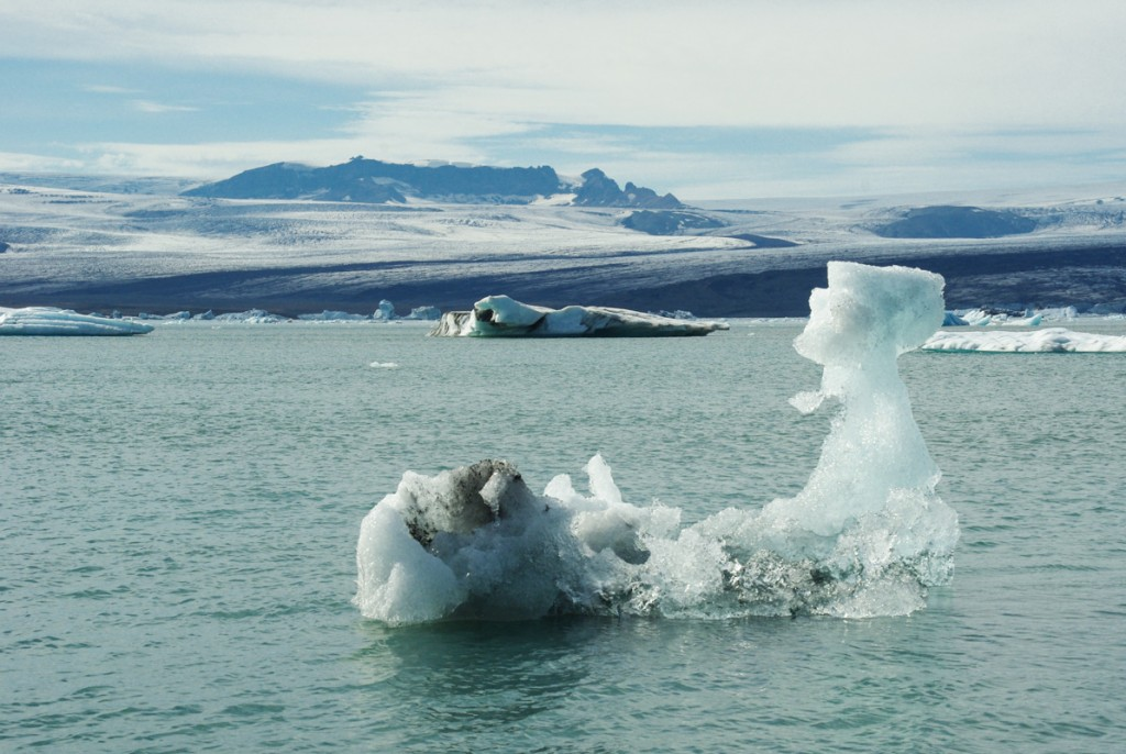 lac glaciaire du Jokulsarlon