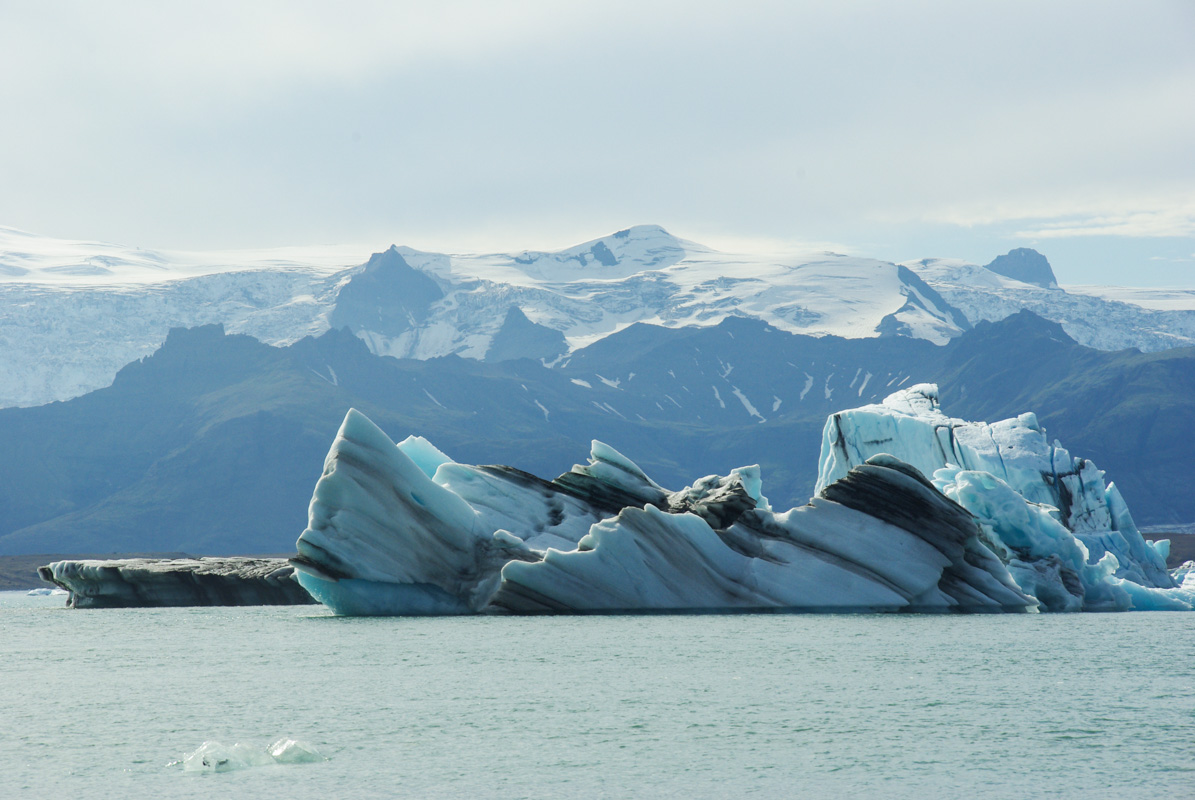 Jökulsárlón : balade sur les rives d'un lac glaciaire