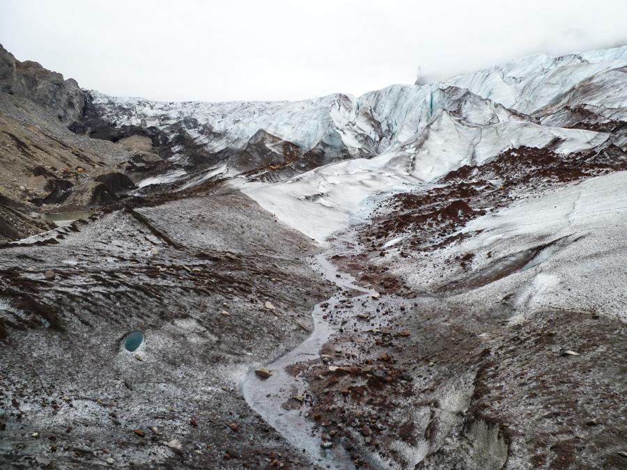 glacier de Svinafellsjokull - Islande