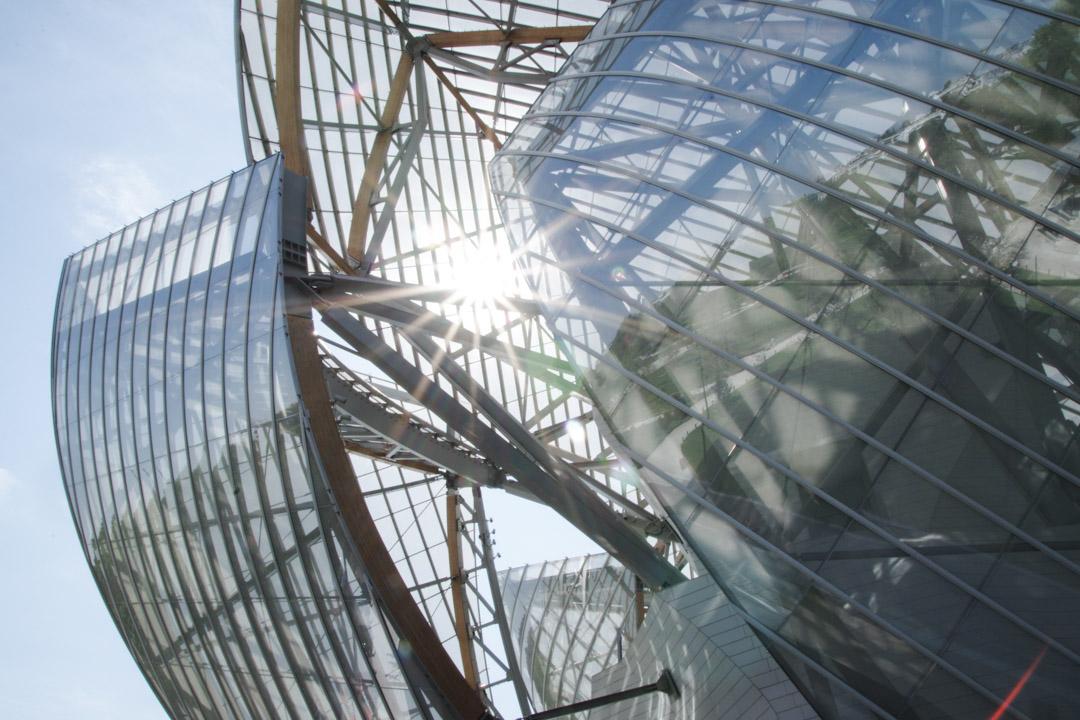 Fondation Louis Vuitton - architecture de Franck Gehry