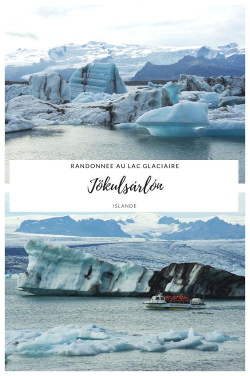 Le Lac Glaciaire de Jökulsárlón en Islande