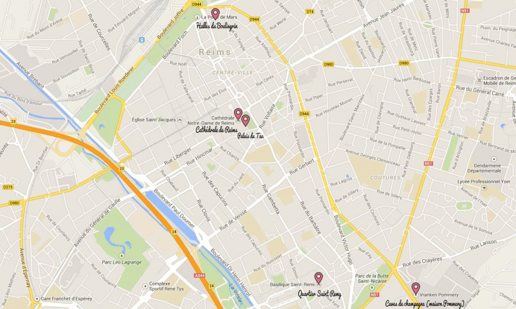 plan de Reims