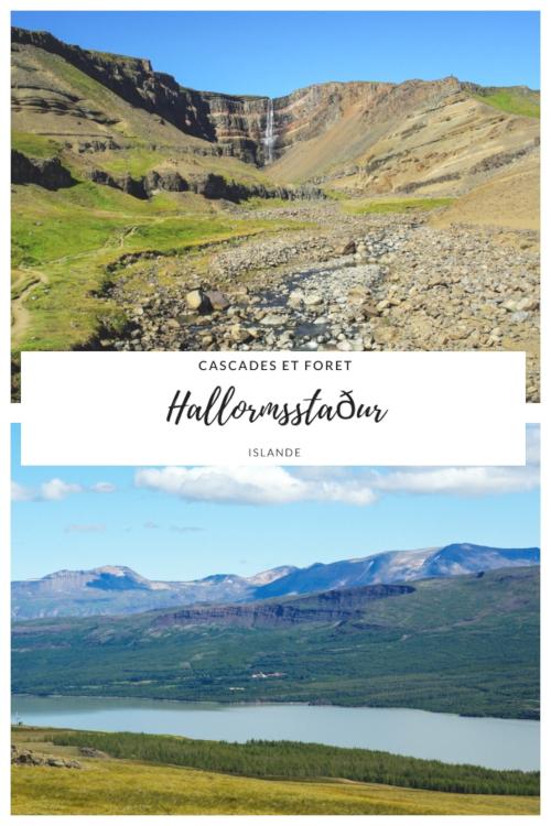 L'Est de l'Islande : randonnée à la cascade Hengifoss et randonnée dans la forêt de Hallormsstaður