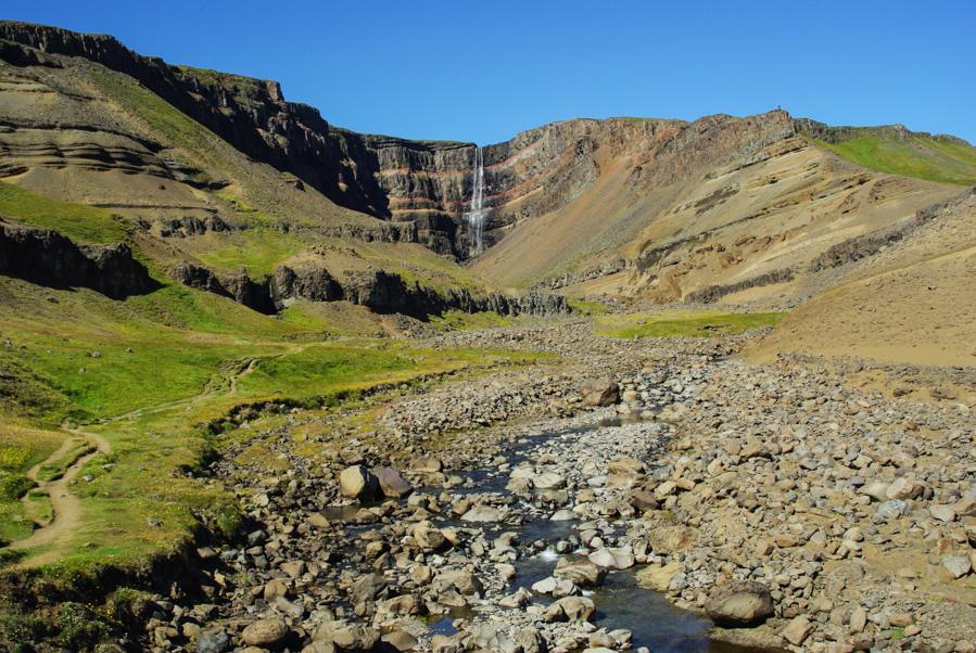 cascade Hengifoss en Islande