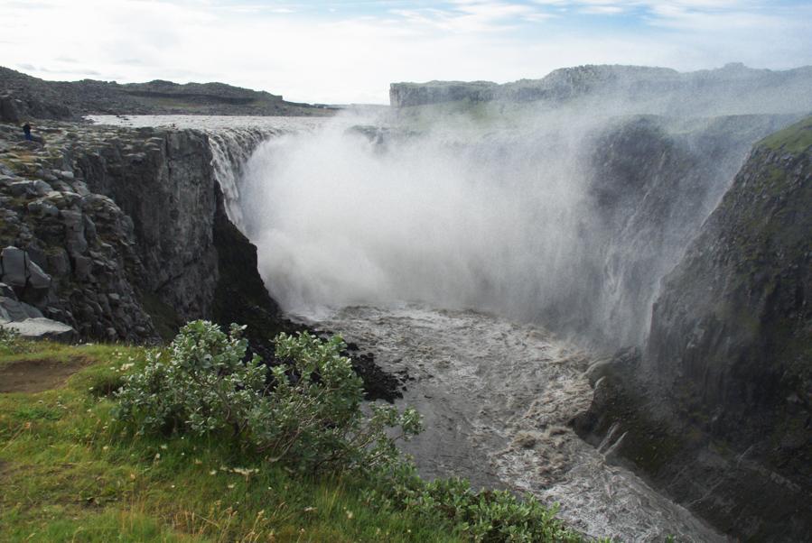 La cascade Dettifoss en Islande