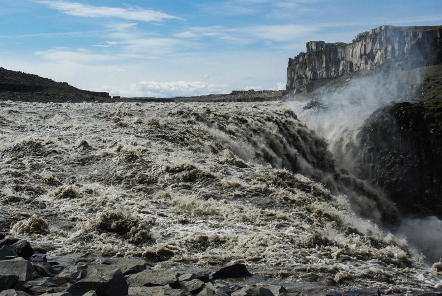 La cascade de Dettifoss en Islande