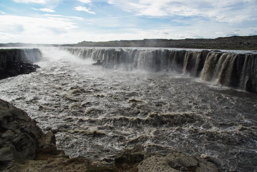 Selfoss - une cascade près de Dettifoss