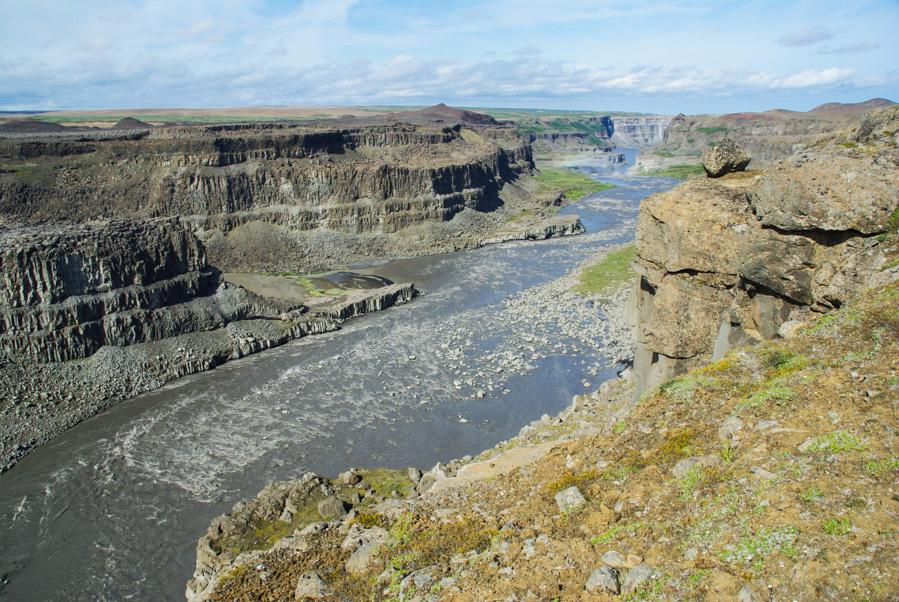 Le canyon de la Jökulsa