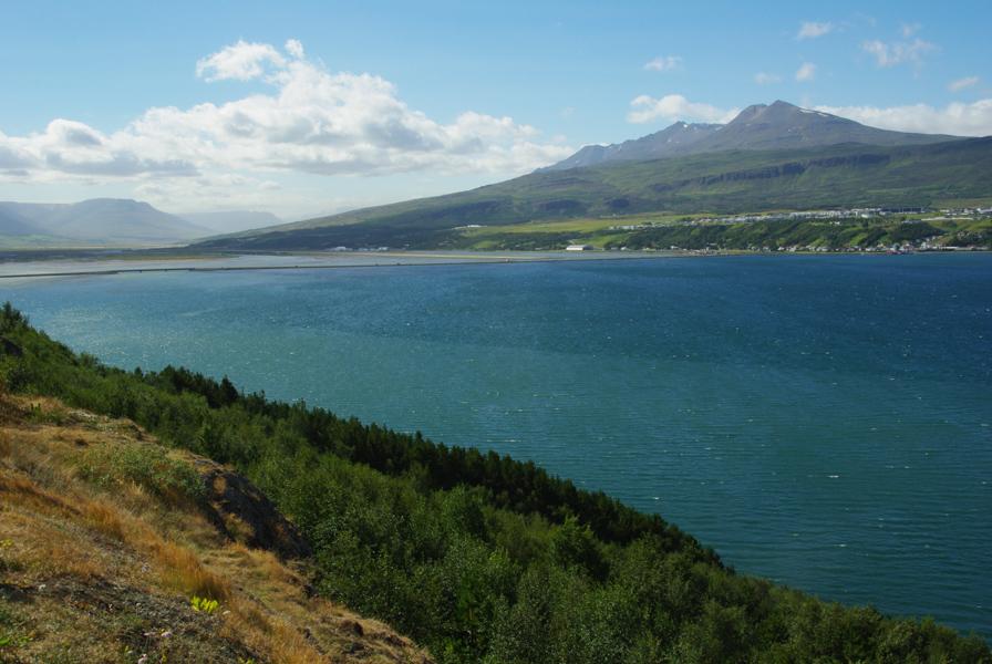 fjord Eyjafjörður - Akureyri - Islande