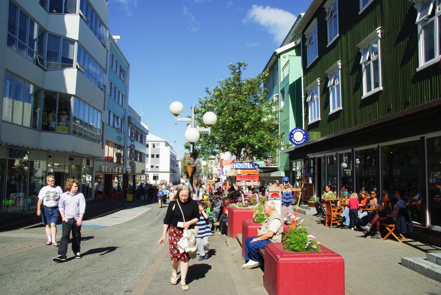 centre ville d'Akureyri - Islande