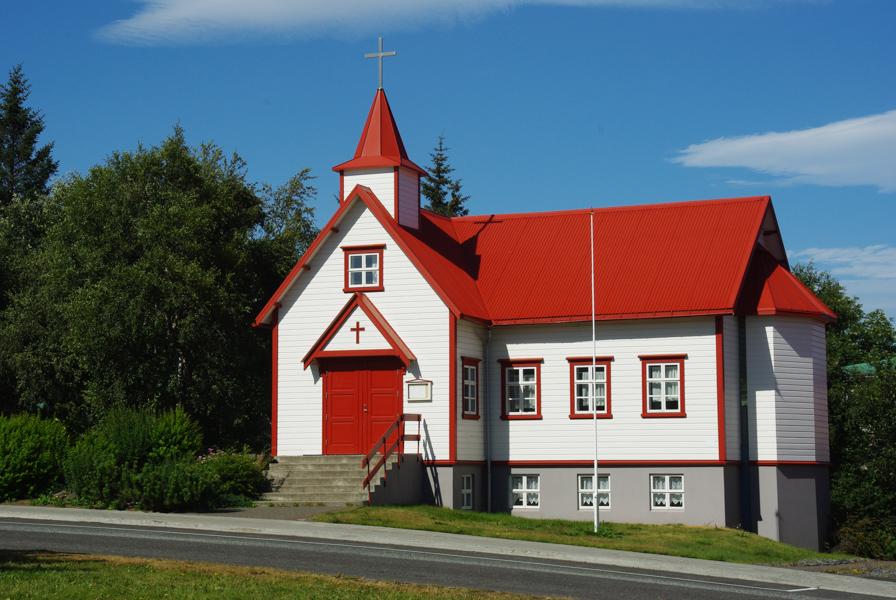 Presbytère d'Akureyri - Islande