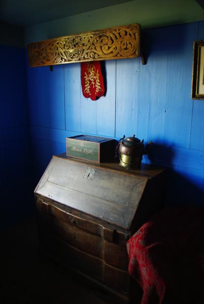 intérieur d'une ferme traditionnelle islandaise maison en tourbe - Ecomusée de Glaumbear - Varmahlíð