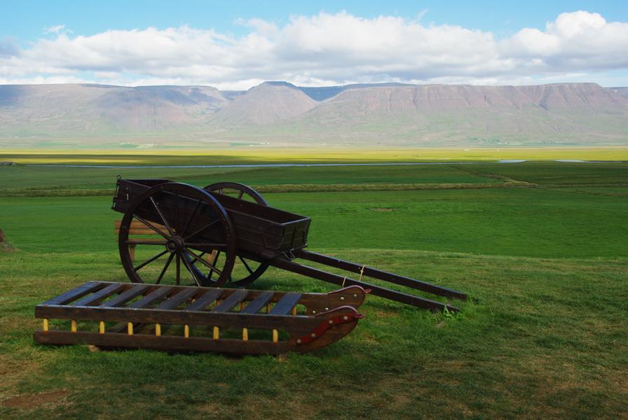 paysage de campagne - Islande