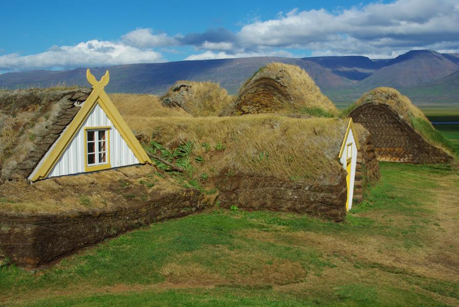maisons en tourbe - Ecomusée de Glaumbear - Varmahlíð