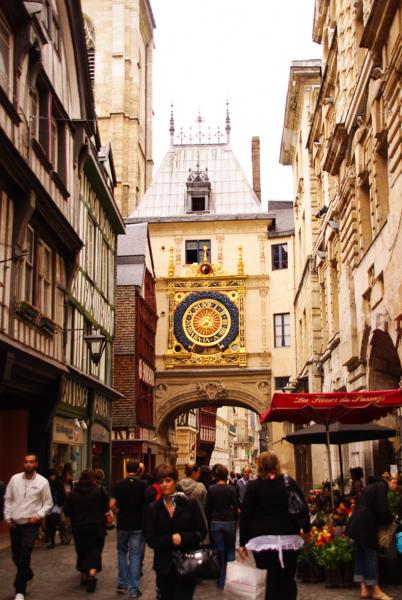 La Tour du Gros Horloge de Rouen
