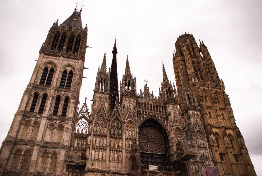 cathédrale Notre Dame de Rouen - façade principale