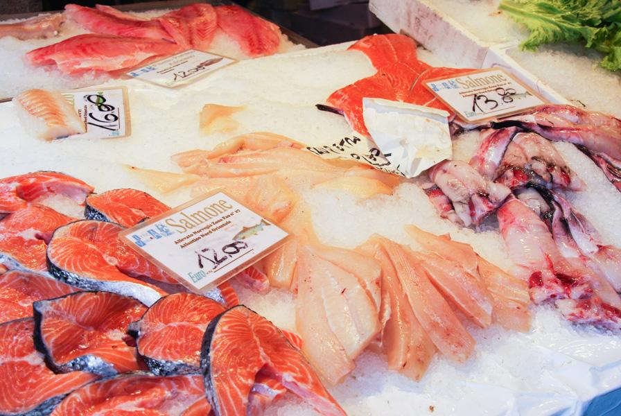 marché au poisson du Rialto - Venise