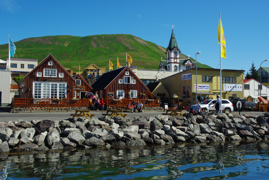 La ville d'Husavik - Islande