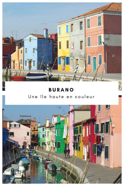 Visiter l'île de Burano dans la Lagune de Venise - Italie