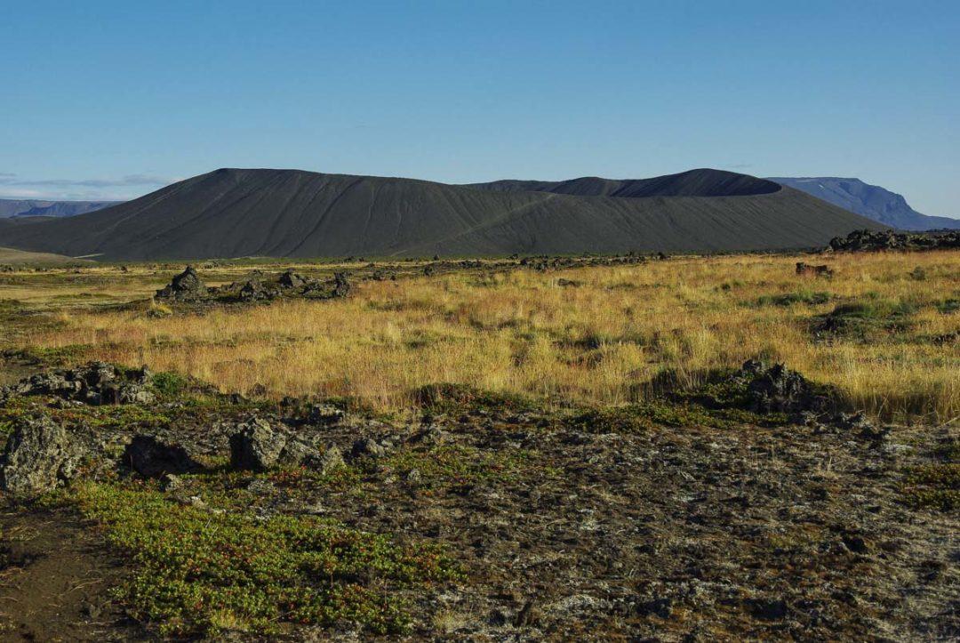 Cratere Hverfall près de Myvatn en Islande