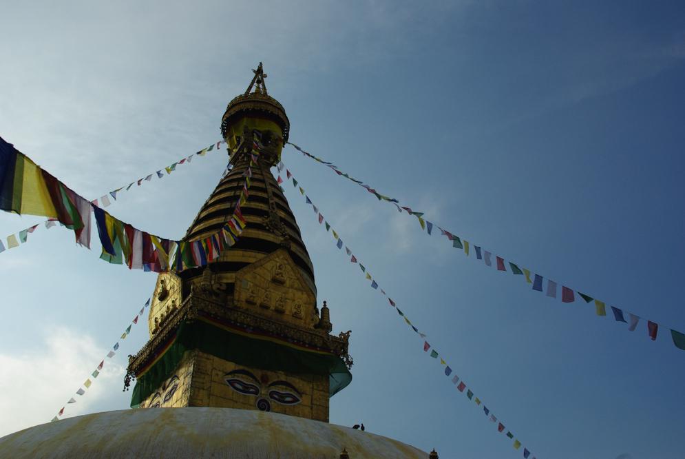 Stupa de Swayambunath Katmandou
