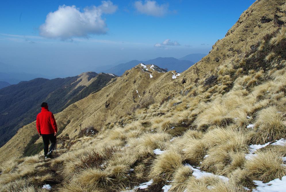 Près de High Camp, trek de Mardi Himal au Népal