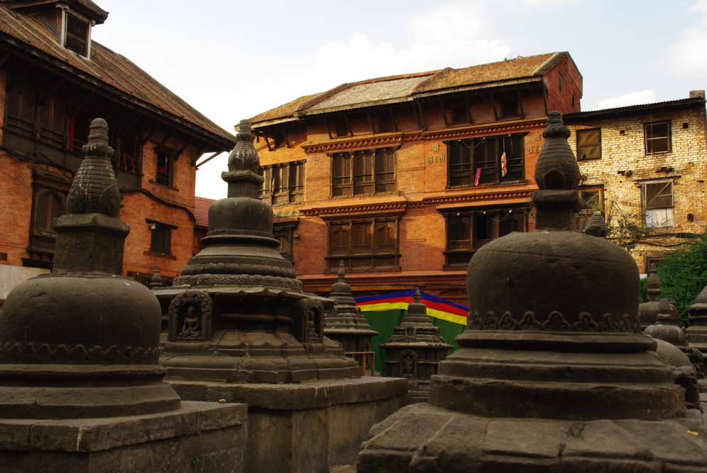 le sanctuaire de Swayambunath