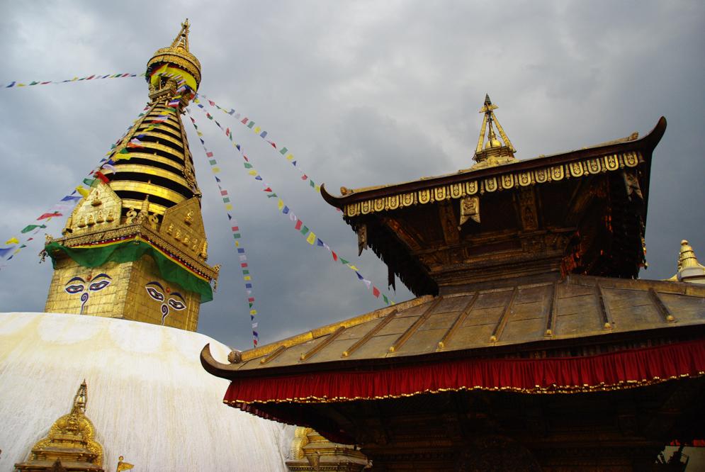 Stupa de Swayambunath à Katmandou