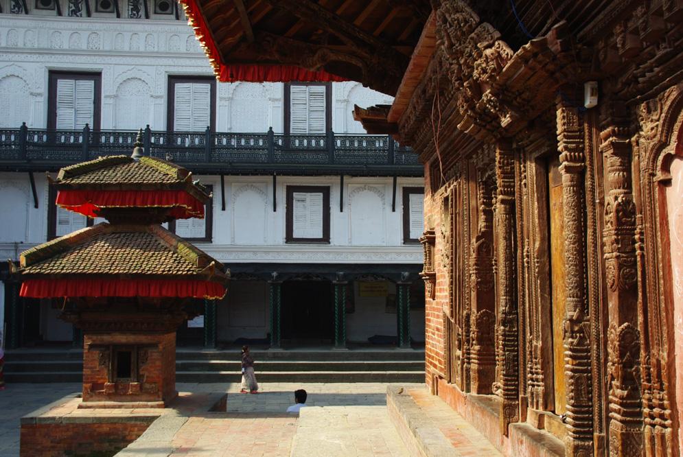 Durbar Square Katmandou