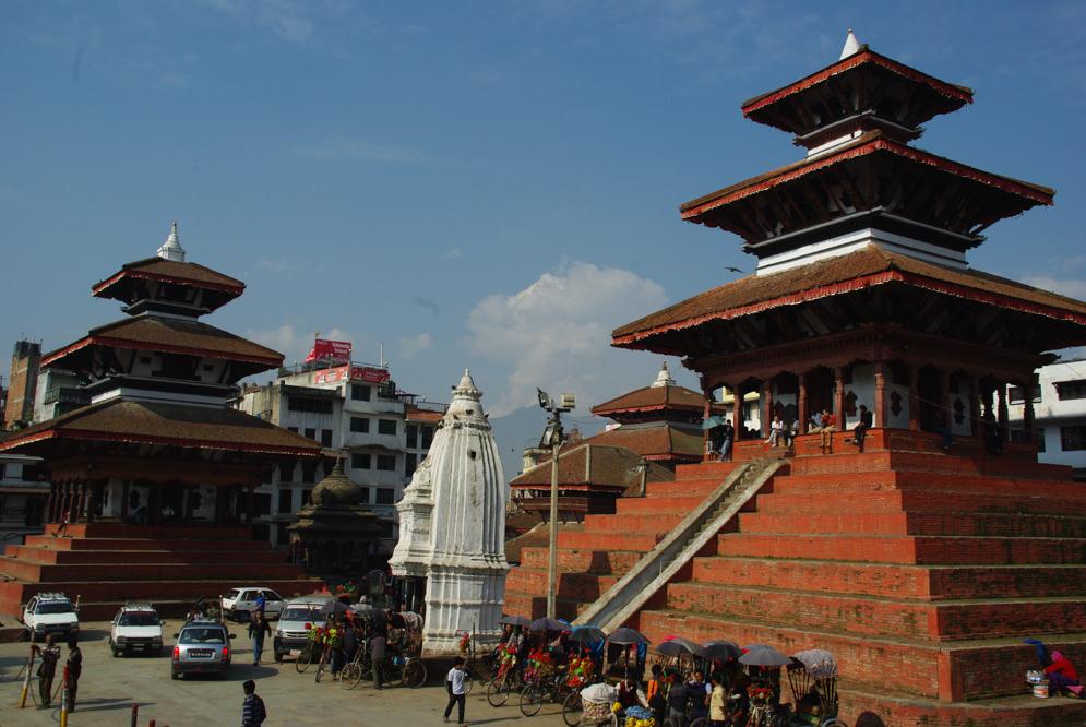 Durbar square de Katmandou