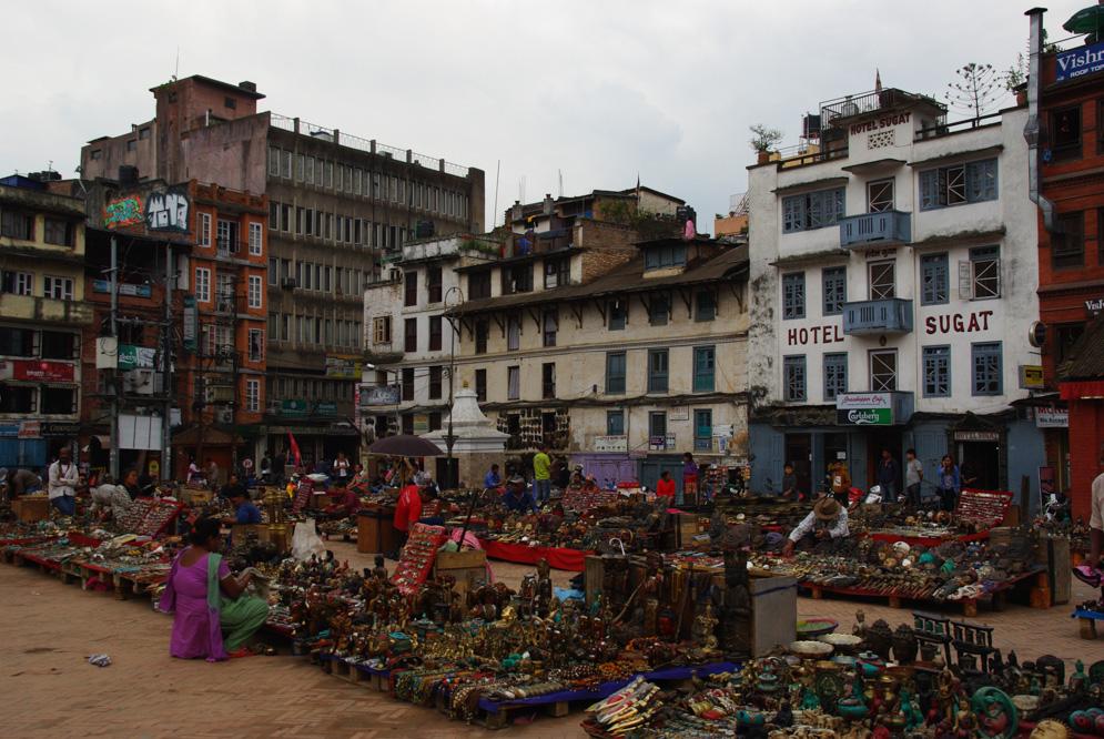 Basantpur Square à Katmandou